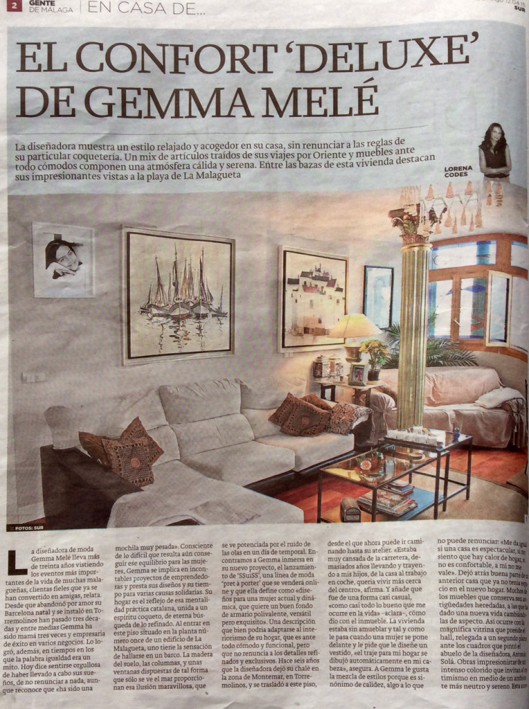 El Hogar funcional 'deluxe' de Gemma Melé